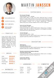 cv template in word 2 color versions in 1 including 2nd page