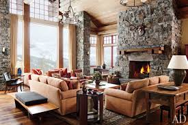 mountain homes interiors a rustic yet modern montana ski house by michael s smith