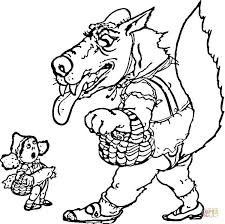 red riding hood coloring pages free coloring pages