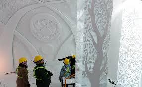 Hotel De Glace Canada Quebec U0027s Hotel De Glace Is A Sculpted Winter Wonderland Escape