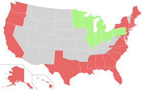 States Map Of Usa by File Map Of Usa Highlighting Coastal States Svg Wikimedia Commons