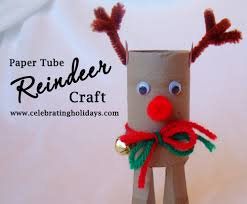 toilet paper tube christmas craft celebrating holidays