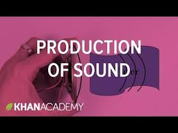 production of sound video sound khan academy