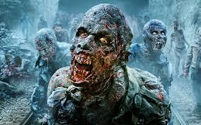 walking dead scary walker hd wallpaper download free hd