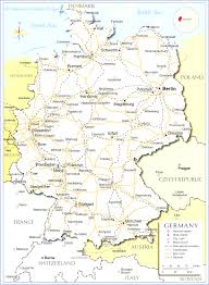 Bremen Germany Map by Germany Map At Germany Map With Cities Evenakliyat Biz