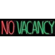 light glow no vacancy sign accessories u0026 makeup