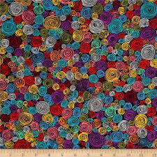 kaffe fassett home decor fabric kaffe fassett rolled paper black discount designer fabric