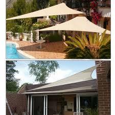 Sail Patio Cover Triyae Com U003d Sun Canopy For Backyard Various Design Inspiration