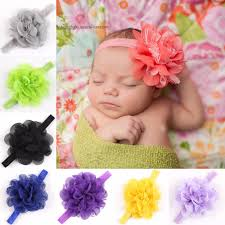 bando headbands aliexpress buy fascinator menina flower chiffon headbands