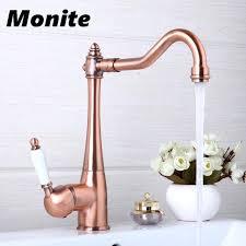 kitchen faucet extender tap faucets kitchen faucets swivel antique copper deck mounted