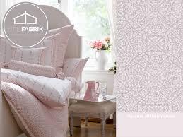 Esszimmerstuhl Henning Rasch Textil Indigo 226293 Rose Weiß Ornament Muster Vliestapete