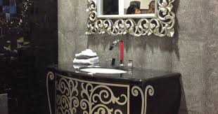 mirror dining room wall decor with mirror awesome black ornate