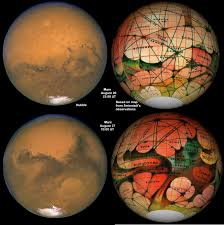 Mars Map Mars How To How To Articles Articles Cloudy Nights