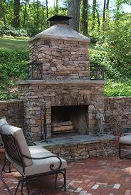 Outdoor Patio Fireplace Designs Outside Fireplace In Outside Fireplace