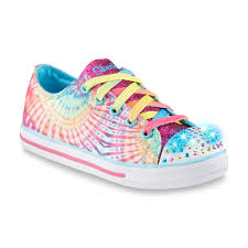 rainbow light up shoes upc 888222875329 skechers s twinkle toes chillin charmer