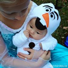 olaf costume family after easy olaf costume