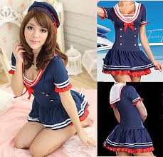 Halloween Costumes Sailor Woman Cosplay Halloween Costume Sailor Fancy Dress Navy