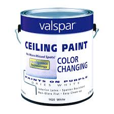 valspar color changing ceiling paint interior flat gallon