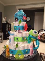 inc baby shower inc baby shower cake ideas new monsters inc cake