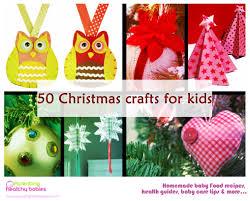 50 christmas crafts for kids www parentinghealthybabies com