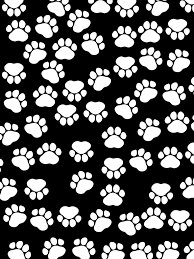 Cute Black And White Wallpapers by Paws Ipad Air Wallpaper Black White Strawberry And Hearts