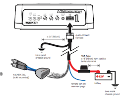 kicker hideaway wiring diagram kicker wiring diagrams collection