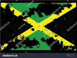 Flag With Ak 47 Dirty Jamaica Flag Backgrounds Stock Vector 111944009 Shutterstock