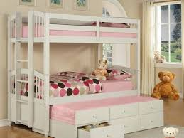 Bunk Bed With Trundle Bed Trundle Bed Size Bed White Trading Cl Size