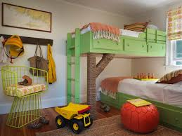 Treehouse Bunk Beds Eclectic Boys Room Benjamin Moore - Treehouse bunk beds