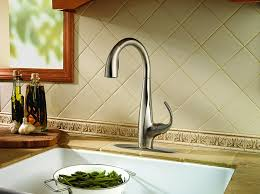 Kitchen Faucets Pfister Lf5297ans Avanti 1 Handle Pull Down Kitchen Faucet