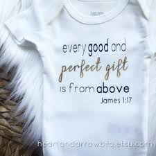 james 1 17 bible verse baby onesie bodysuit toddler tshirt