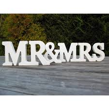 mr and mrs wooden letters levelings