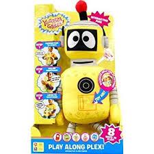 amazon yo gabba gabba play plush plex toys u0026 games
