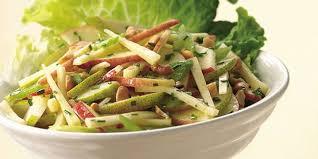 cara membuat salad sayur atau buah salad buah sehat dari apel dan buah pir vemale com