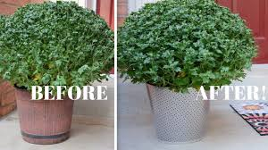 how to make your own diy garden planters from metal