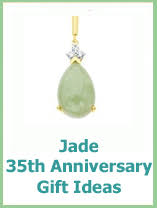 35th anniversary gifts wedding anniversary gifts 35th wedding anniversary gifts jade