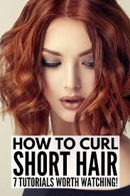 whats the best curling wands for short hair how to curl short hair 7 techniques and all the products we swear by