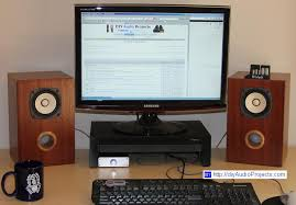 Bookshelf Audio Speakers Fostex Fe103en Diy Bass Reflex Bookshelf Speakers Nearfield Monitors