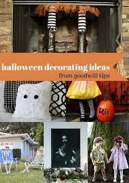 goodwill tips 6 festive halloween decorating ideas
