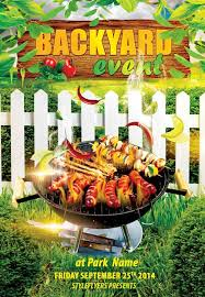 Backyard Bbq Party Menu Download The Best Free Barbecue Flyer Psd Templates For Photoshop
