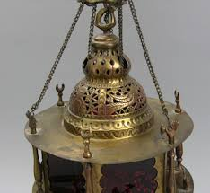 a vintage moroccan hanging lamp 11 22 08 sold 161