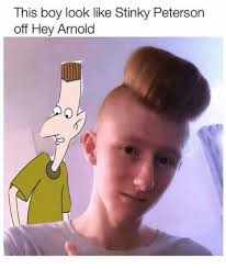Hey Meme - hey arnold meme boy looks like stinky on bingememe