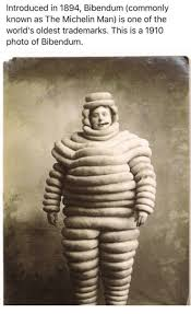 Michelin Man Meme - introduced in 1894 bibendum commonly known as the michelin man is