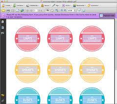 printable canning jar labels personalized merriment design