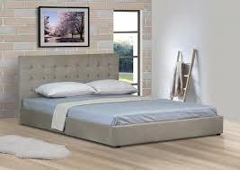 Suede Bed Frame Summer Clearance Upholstered Faux Suede Bed Frame 4ft6 5ft Mink Or