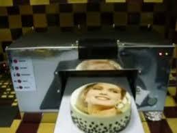 edible printing system cake printer prints direct on the