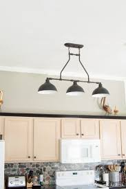 Farmhouse Pendant Lighting The New Farmhouse Pendant Lights T H Kitchen Makeover Table