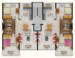 Floor Plan Of Two Bedroom House by Contemporary Two Bedroom Apartment Floor Plans Shoisecom Intended