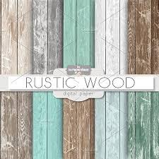 rustic wood rustic wood teal patterns creative market