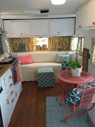 Rv Interiors Images 1046 Best Camper Dreams Images On Pinterest Vintage Campers